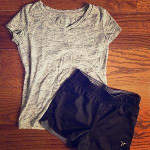 5/$25 Girls Marled Gray Shirt